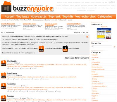 Buzz Annuaire